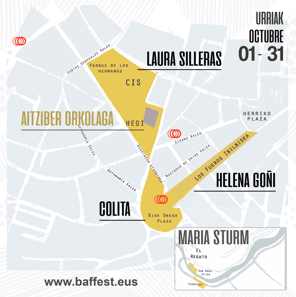 Mapa espacios 2020